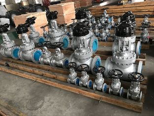 Good Quality Full Bore Ball Valve & Ansi Standard Din Gate Valve F4  F5 Series Seal Welded Seats For High Pressure on sale