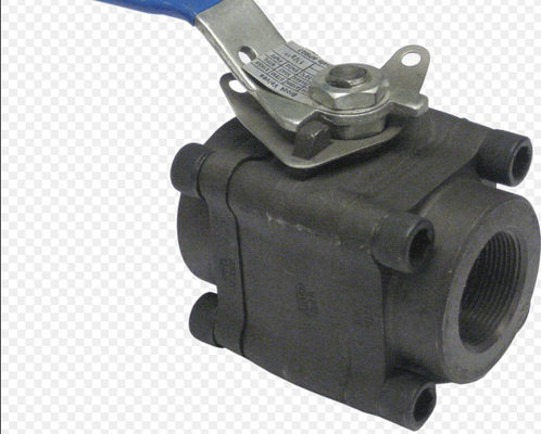 Good Quality Full Bore Ball Valve & API6D 3 Piece Full Bore Ball Valve SW  NPT Ends Forged Steel Material on sale