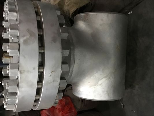 24 Inch TP304L Flanged Y Type Strainer , 300 LBS Basket Type Strainer BW ENDS