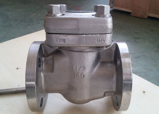 Reduce Bore Forged Steel Valve Intergral Flange Piston Check Valve BC F11 F51 B16. 34