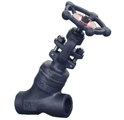 Pressure Seal Y Pattern Globe Valve 900 LBS ASME B16.10 EN 558 For Liquid