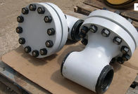 China TEE TYPE ASME Strainer ASME B16.10 TP304 Body Screen 316L 300LB , Compact Design factory