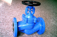 China Flanged ANSI Bellow Globe Valve Double Seal B16.10 Bolted Bonnet Globe Valve factory