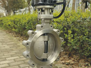 High Performance API609 Butterfly Valve With Wafer Lug , Anti Blow Out Stem