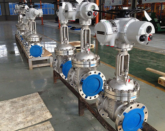 CF8M BODY API 600 Gate Valve 16 Inch C5 Material With 300 LB Pressure