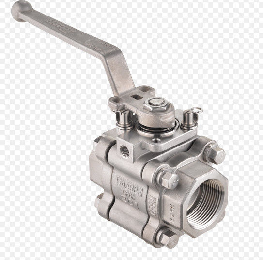 A105N Full Bore Ball Valve Three Piece Body Sw Connection 800lb Pressure