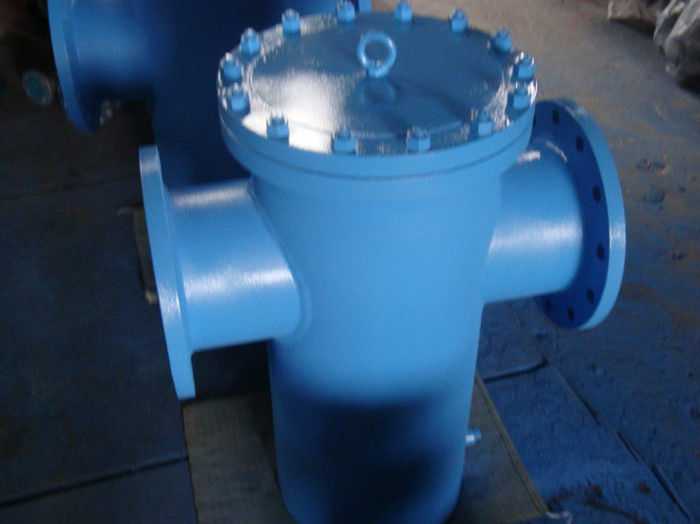 T Type ASME Strainer Bolted or Threaded Cover CS SS Hastelloy Inconel Monel Alloy20