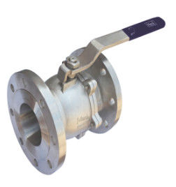 Full Bore API 6D Ball Valve F91 Body 2500lb Nylon Seat Rf Flange Split Body