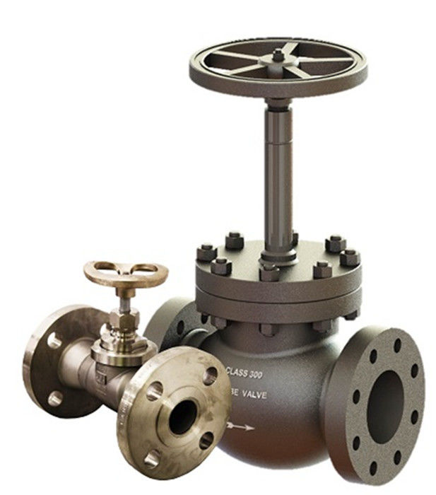 Cryogenic Bellow Seal Globe Valve Extended Bonnet LF2 LCB LCC CF3M For Air Gases