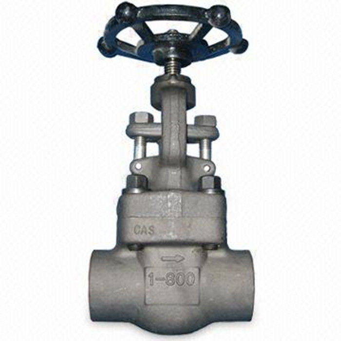 Durable Forged Steel Valve Globe Valve Renewable & Integral Seat Rings Welded Bonnet