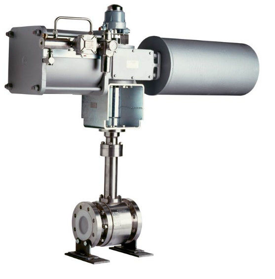 API6D 8 Inch Ball Valve Double Block And Bleed TA LUFT Cryogenic Service Design
