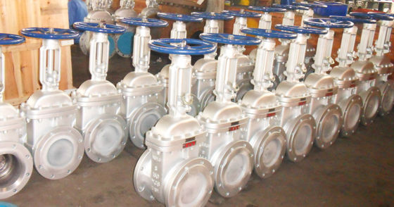 150lb Bolted Bonnet Gate Valve BW Connect , WCC Trim 8 Inch Gate Valve