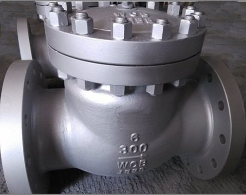 Flanged Swing Check Valve 150# CF8M Body Bolt & Nut B7/ 2H Metal seated HF