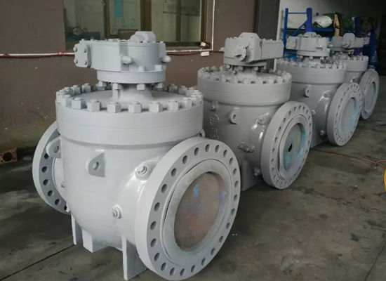 Top Entry Soft Seated Ball Valve , ISO 5211 Anti Static API 6D Ball Valve