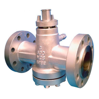 4 Inch API 6D Plug Valve , Class 600 Gear Operated Valves PN100 Butt Welded