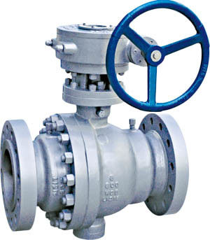 DN500 Full Bore Ball Valve Investment Casting Anti Static ASME B16.5