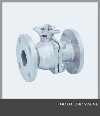 RF ANSI ASTM 150lb Casting Full Port Flanged Ball Valve