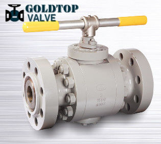Rtj Flanged Split Body Trunnion Ball Valve Asme B16.5